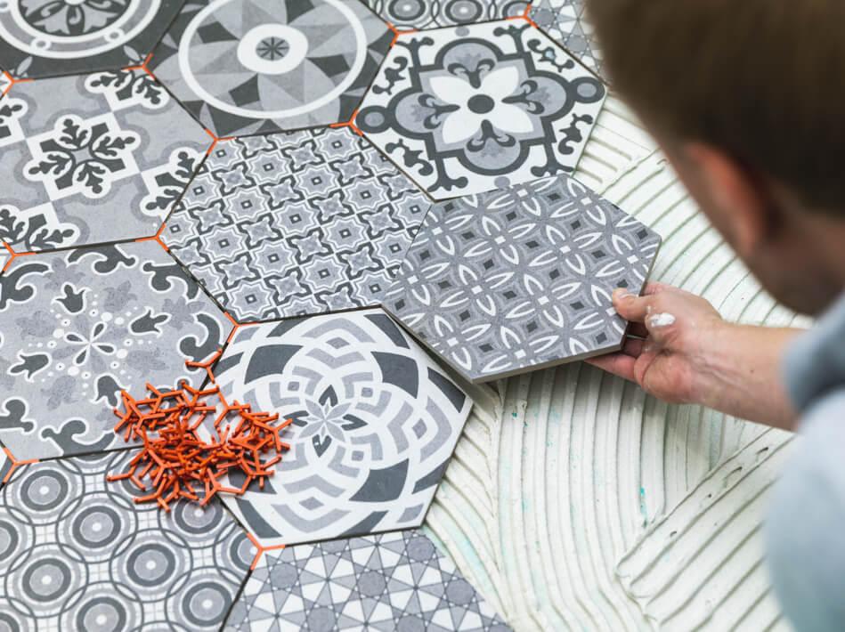 Ceramic tile installation | Flooring Installation System