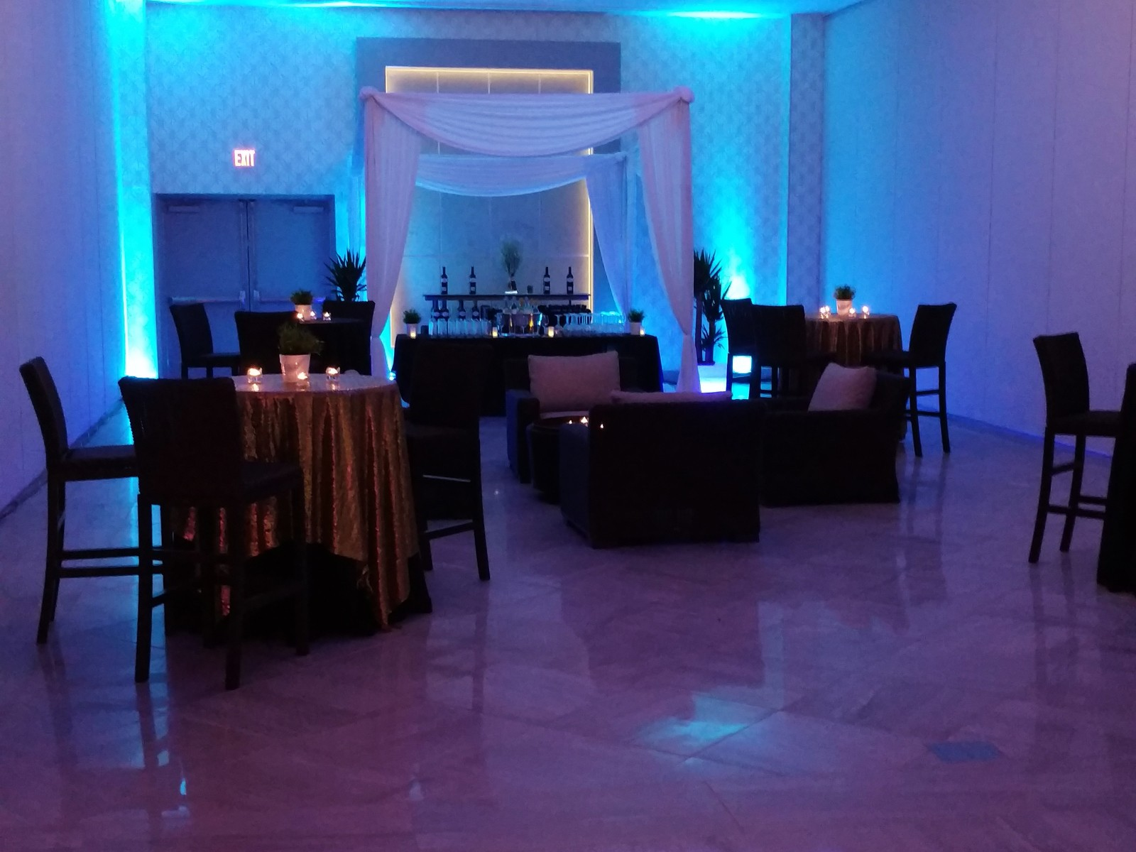 Hilton Garden Inn Springfield party hall | Flooring Installation System