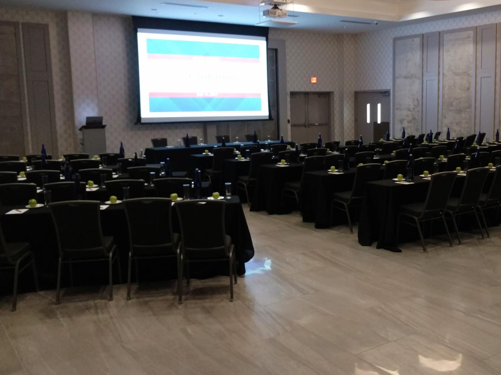 Hilton Garden Inn Springfield conference room | Flooring Installation System