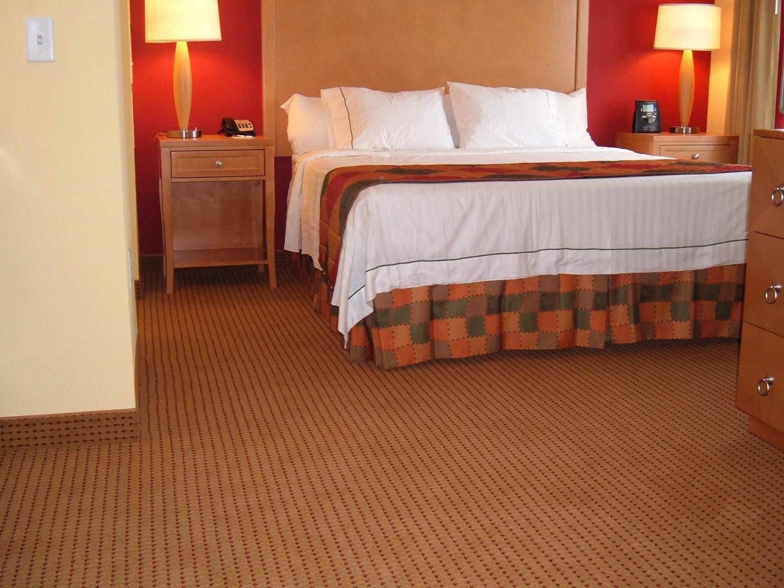 Bedroom Residence Inn Mt Laurel | Flooring Installation System