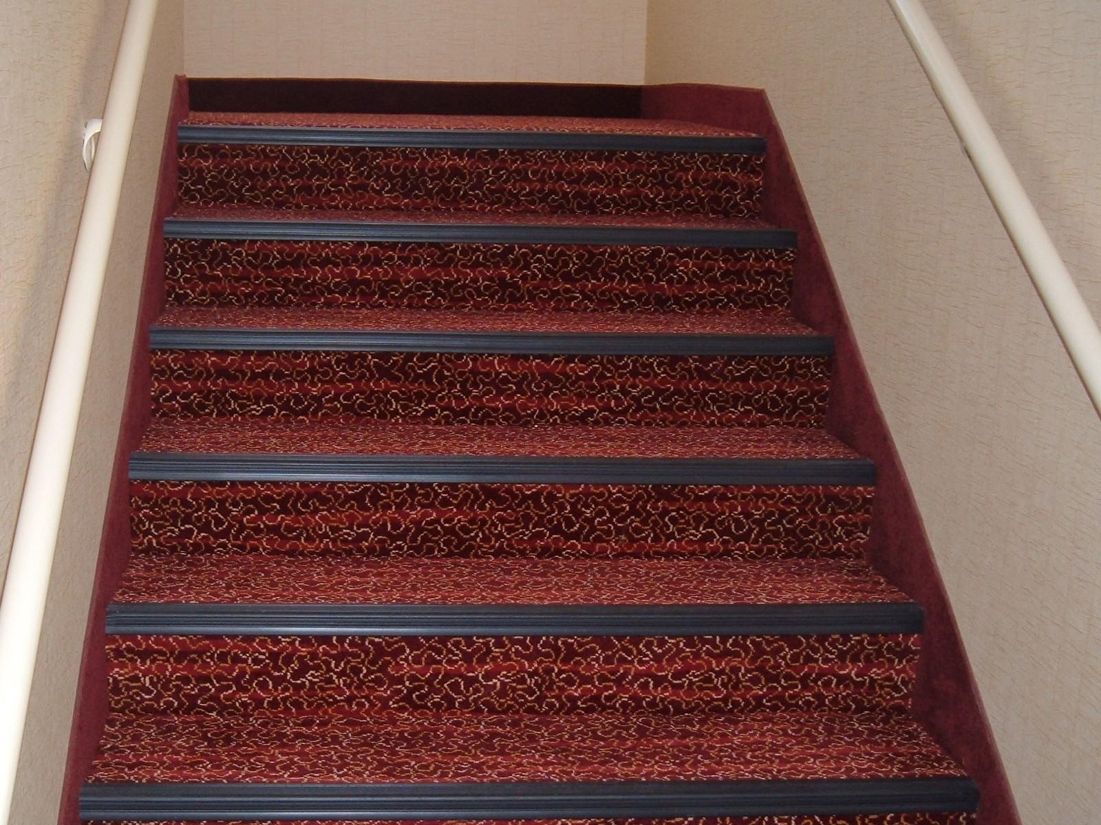 Residence Inn Mt Laurel in red color | Flooring Installation System