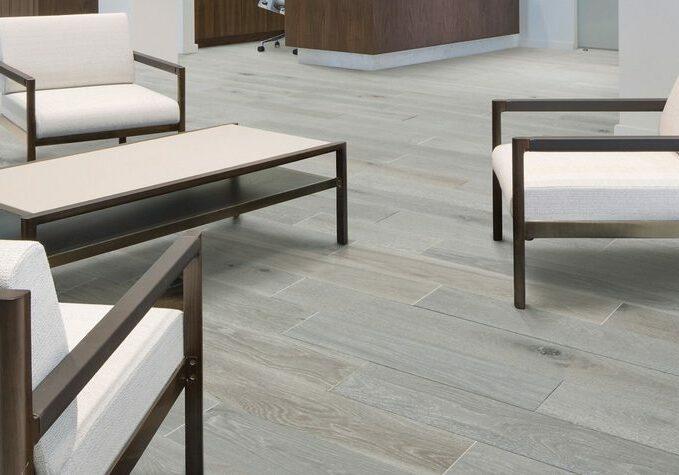 Chairs on Hardwood floor | Flooring Installation System